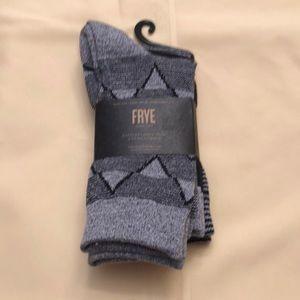 Frye socks. 3pair. New.